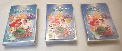 The Little Mermaid *SEALED* PROMO VHS, BETA Tape ~ Black Diamond ~ Banned Cover