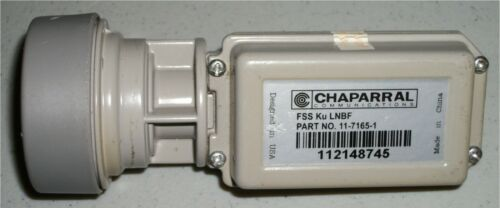 CHAPARRAL FSS KU BAND LNB FOR A BUD (BIG UGLY DISH) #11-7165-1