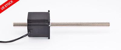Nema 23 Stepper Motor Non Captive Linear Actuator Lead Screw Length 7.874