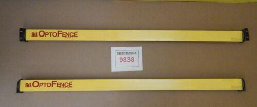 "Sti OF4172B-2 OptoFence 72"" Light Curtain Receiver Transmitter Set Used Working"