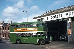 Hants & Dorset KSW No1322 Poole Bus Garage Bus Photo