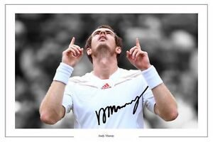 ANDY-MURRAY-WIMBLEDON-TENNIS-AUTOGRAPH-SIGNED-PRINT-PHOTO