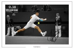 NOVAK-DJOKOVIC-SIGNED-WIMBLEDON-TENNIS-AUTOGRAPH-PHOTO-PRINT-POSTER