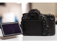 Canon 70d and canon 15-85 USM