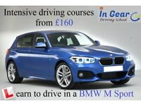 Driving Lesson from £18 in a BMW M Sport.