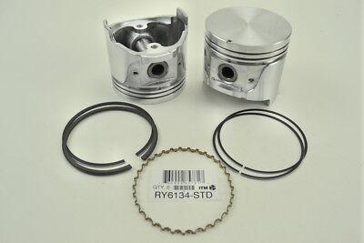 Engine Piston Kit ITM RY6134-020 fits 81-83 Nissan 280ZX 2.8L-L6