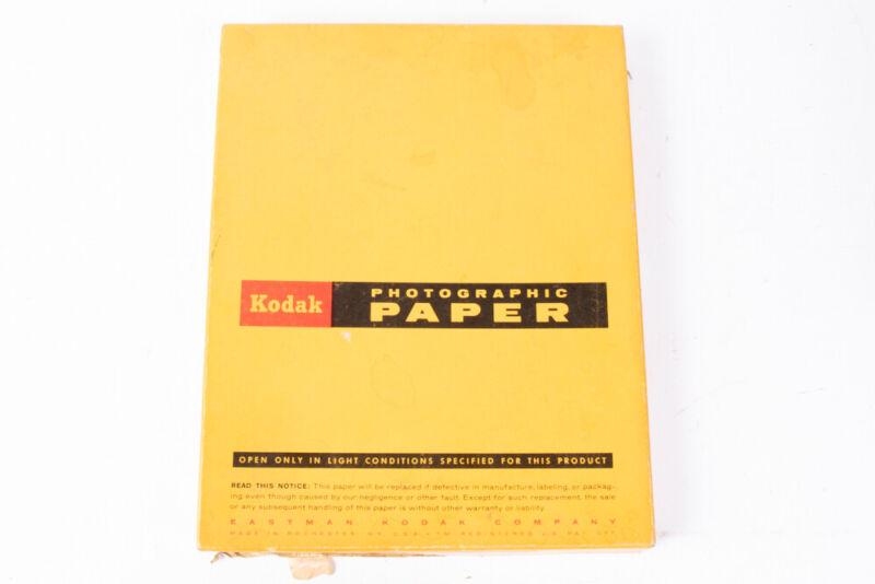 """Kodak Panalure F Single Weight 8X10"""" Photographic Paper 100 Sheets Open Box E16"""