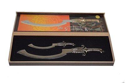 PK2361S Sword of The Scorpion King Mini Set Silver