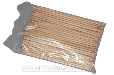 100 cuticle manicure orange sticks 6