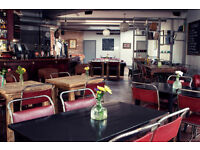 Wanted CHEF DE PARTIE for fresh food pub in Hackney
