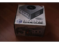 Nintendo Gamecube for Sale, SILVER, complete with silver controller and standard memory card