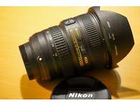 NIKON 18-35mm f3.5 - 4.5 G wide angle FX lens