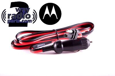 Motorola Cigarette Lighter Power Cord Cdm1250 Cdm750 Cdm1550 Xpr5580 Maxtrac