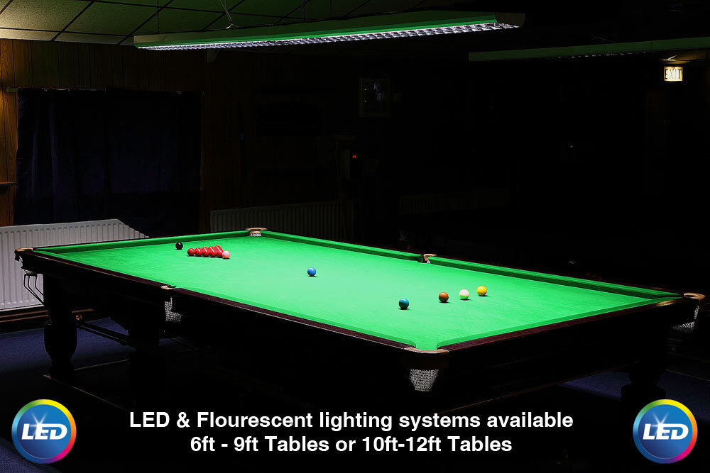 Professionell Tournament Snooker Pool Billiard Tisch Led/Fluoreszierend