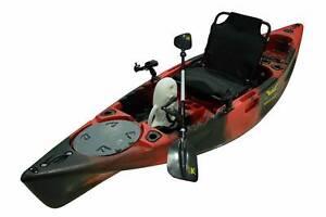 Kings Kraft Pedal Power Kayaks Red/Black kayak Bonus Offers $1799 Riverhills Brisbane South West Preview
