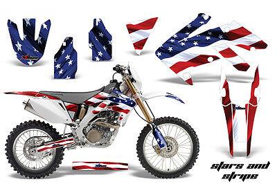 Dirt Bike Decal Graphics Kit MX Sticker Wrap For Honda CRF250X 2004-2017 USA