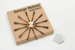 Spindle Clock  by Vitra George Nelson Authentic Item Authorized Dealer