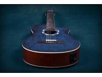 Lindo LDG-960CEQ Electro-Acoustic Classical Guitar - Picasso Blue