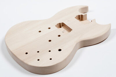 Cuerpo guitarra eléctrica SG tilo - SG Basswood electric guitar body