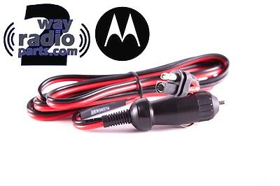 Motorola Dc Cigarette Lighter Adapter Xpr5550 Xpr4550 Cm200d Cm300d Xpr4300 Sm50