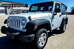2016 Jeep Wrangler Sport,*4WD, 8 SPEAKERS, SHIFT ON THE FLY*