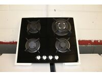 60cm Built in Ceramic Glass on Gas Hob with FFD **CHEAP** Full Set