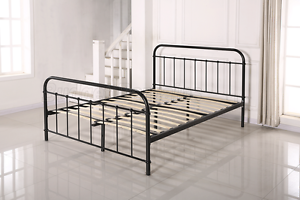 Metal Bed Frame Single King Single Double or Queen Size New Hoppers Crossing Wyndham Area Preview