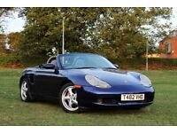 PORSCHE BOXSTER 986 MANUAL LOW MILES 16 SERVICE STAMPS EXCELLENT EXAMPLE
