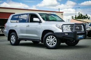 2008 Toyota Landcruiser VDJ200R Sahara Silver 6 Speed Sports Automatic Wagon Coopers Plains Brisbane South West Preview