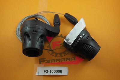 F3-1100006 PAR COMANDOS CAMBIO BICICLETA DE LA BICI 3X 7 VELOCIDAD GRIP...