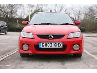 Mazda 323F 2.0 Sport Estate/Wagon (recent cam belt change with receipt)
