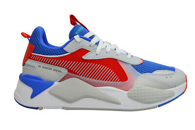 Mens Puma RS-S x Transformers Optimus - 37070201 - Dazzling Blue High Risk Red