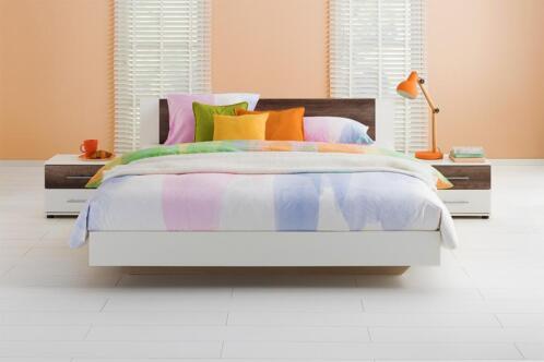 â beddenreus ledikant oaklyn incl bedbodem en matras 140x200