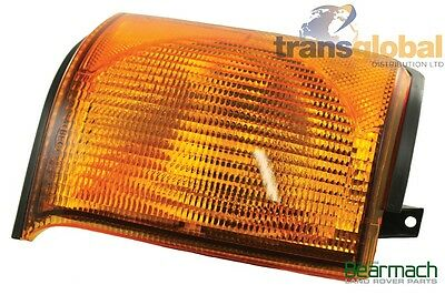 Land Rover Discovery 2 98 02  Front RH OS Indicator Light Lamp Lens - Bearmach