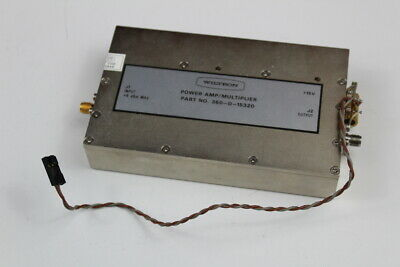 Wiltron 360-d-15320 3611a Power Amp Multiplier