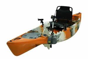 Pedal Kayak Kings Kraft 3.3m single seater Tiger eye Riverhills Brisbane South West Preview