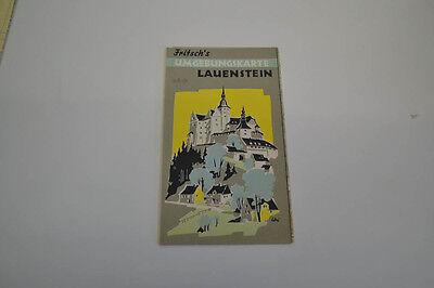 Fritsch´S Umgebungskarte Lauenstein (AGK1435)