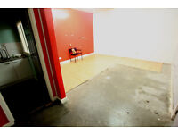 3. Unit, workshop, with small yard space, ground floor, secure, shutter entrance, 1 minute from M74
