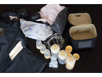 Medela Pump In Style Advanced Double Electric Breast Pump - Lots of extras