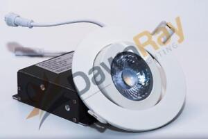 4 Round White Gimbal LED Panel