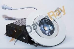DawnRay 4 Round White Gimbal LED Panel