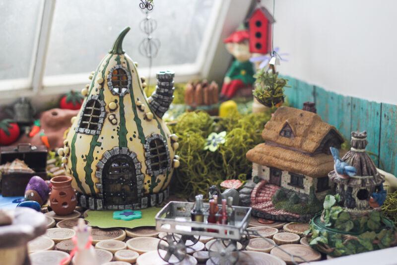 Gnome In Garden: How To DIY An Epic Fairy Garden