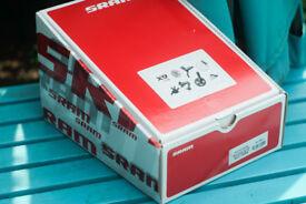 SRAM X9 X-9 2x10 Crankset Fat Bike GXP 170mm 36-22T 100mm Spindle 10 speed Brand New Low Price