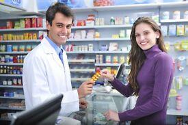 Full & Part Time Pharmacy Staff Needed - Farnham Area