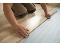 Laminate floor-laying out