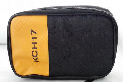 Soft Carrying Casebag For Fluke Hioki Sanwa Kyoritsu Victor Uni-t Multimeter 17