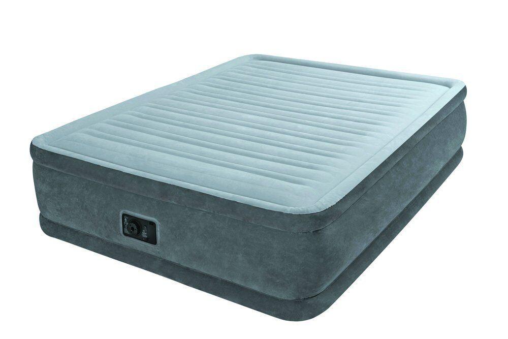 Materasso letto matrimoniale gonfiabile fiber tech con pompa Intex 64414 - Rotex