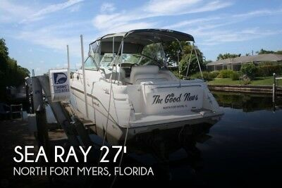 1995 Sea Ray 270 Sundancer Used