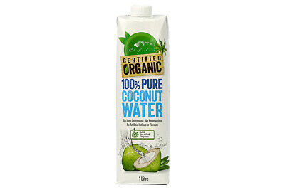 Certified Organic 100% Pure & Natural Coconut Water 1L By NATURAL MOREISH