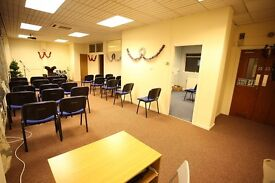 Office space,2nd Floor, suitable for variety of uses, Paisley, across from Abbey & Town Hall